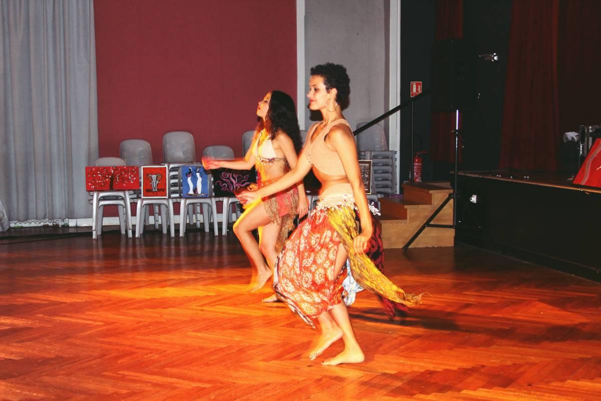 Spectacle de danse latino