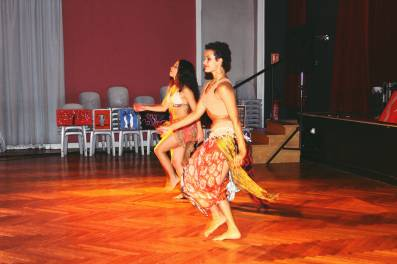 Spectacle de danse latino
